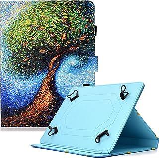 UGOcase Universal 7 Inch Tablet Case, Slim Fit Holder Slots Folio Cover for Galaxy Tab A 7.0/ Tab 4 7.0/ Tab J 7.0/ RCA Vo...