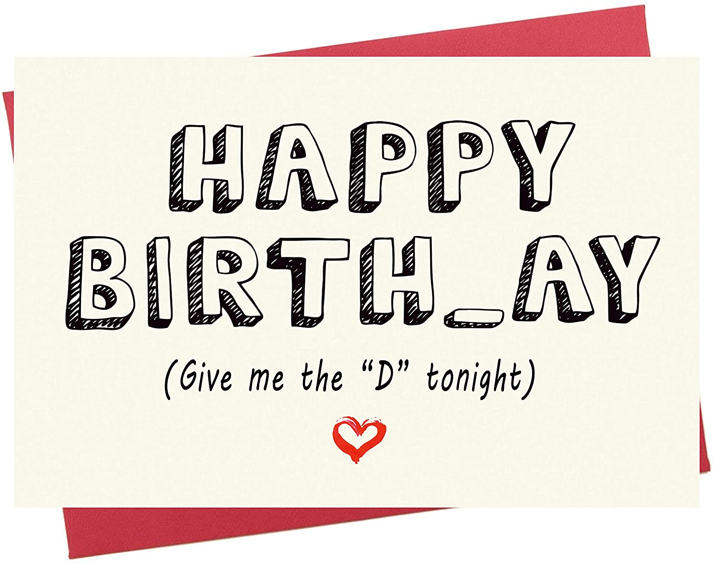 Finally resale start Birthday Card for Him Finally popular brand Happy Boyfrien Naughty