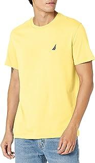 Nautica mens Short Sleeve Solid Crew Neck T-shirt T-Shirt