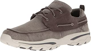 Skechers Men's Relaxed Fit-Creston-Vosen Boat Shoe