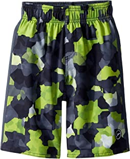Speedo Kids Geo Camo Volley (Little Kids/Big Kids)