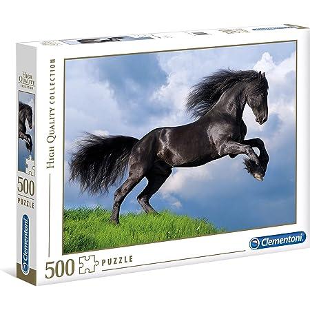 Clementoni 39420 Pferd Clementoni-39420 Collection-Free Horse-1000/Pieces Multi-Colour