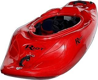 Riot Kayaks Astro 58 Whitewater Playboating Kayak (Red, 6-Feet)