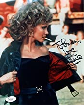 OLIVIA NEWTON JOHN HAND SIGNED 8x10 COLOR PHOTO GREASE TO BRIAN - JSA Certified