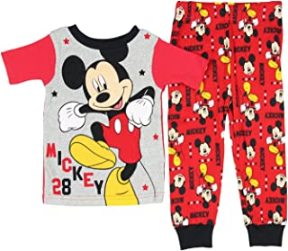 Mickey Mouse Toddler Girls 2 Piece Sleepwear Pajama Set