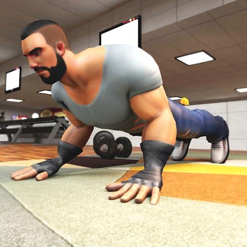 Virtuelles Training im Fitnessstudio: Bodybuilding-Spiele Für Jungen