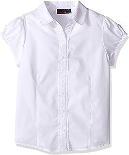 Nautica Girls' Little Short Sleeve Blouse