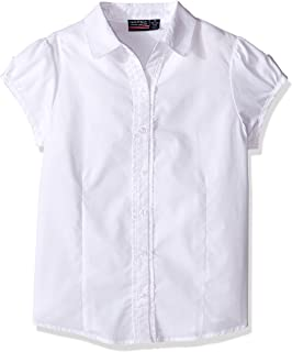 Girls' Short Sleeve Blouse