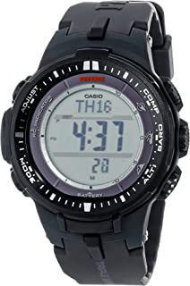 Men's Pro Trek PRW-3000-1CR Tough Solar Triple Sensor Multi-Function Watch