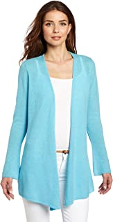Minnie Rose Women's Cashmere Duster Sweater