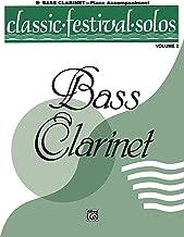 Classic Festival Solos - B-flat Bass Clarinet, Volume 2: Piano Accompaniment