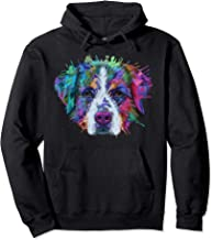 Splash Art Bernese Mountain Dog Hoodie | Berner Lovers Gifts