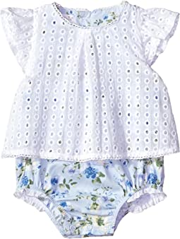 Eyelet Overlay Crawler (Infant)