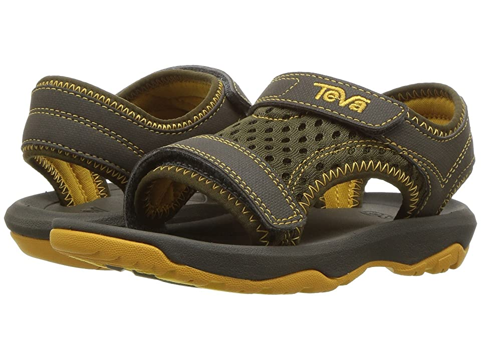 Teva Kids Psyclone XLT (Toddler) (Dark Olive) Boys Shoes
