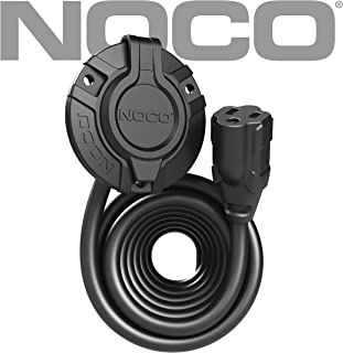 NOCO GCP1EX 15 Amp 125V AC Port Plug Power Inlet with 12-Foot Integrated Extension Cord