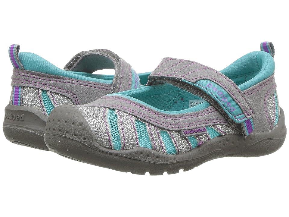 pediped Minnie Flex (Toddler/Little Kid) (Glitter) Girls Shoes