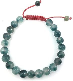 Tibetan Mala Fluorite Bead Wrist Mala Bracelet for Meditation