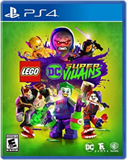Warner Bros LEGO DC Super-Villains, PS4 videogioco Basic PlayStation 4 Inglese