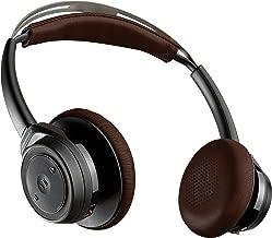 Plantronics Backbeat Sense Wireless Bluetooth Headphones with Mic - Black