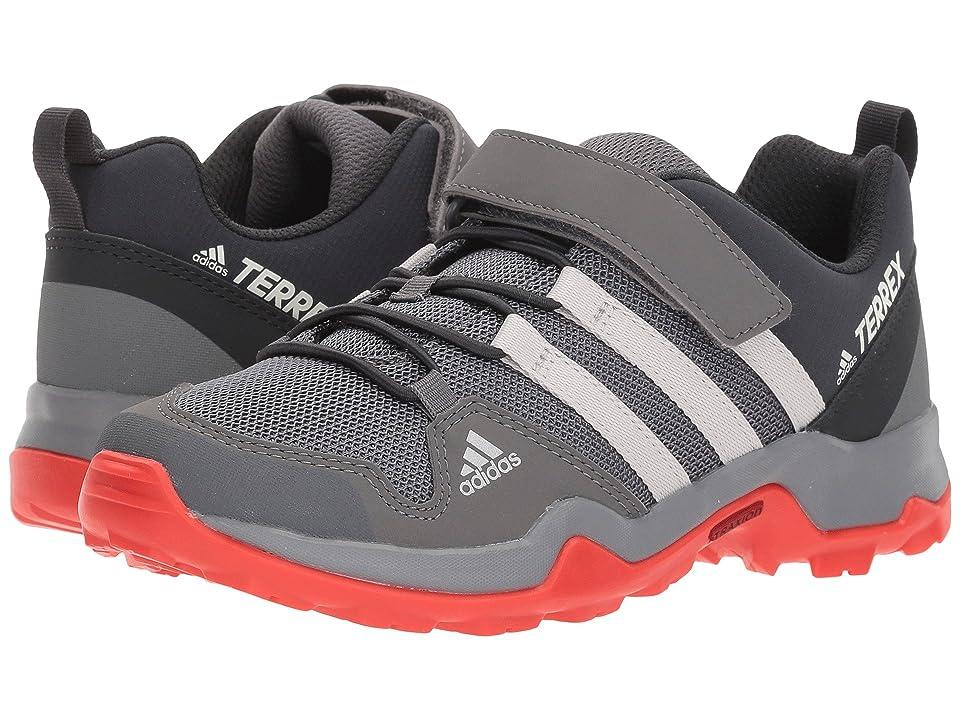 adidas Outdoor Kids Terrex AX2R CF (Little Kid/Big Kid) (Grey Four/Grey One/Hi-Res Red) Boys Shoes