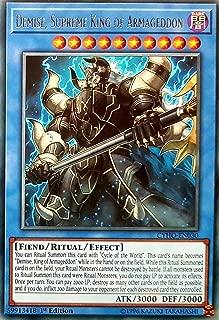 Yu-Gi-Oh! - Demise, Supreme King of Armageddon - CYHO-EN030 - Rare - 1st Edition - Cybernetic Horizon