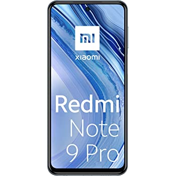 "Xiaomi Redmi Note 9 Pro Smartphone - 6.67"" DotDisplay 6GB 128GB 64MP AI Quad Camera 5020mAh (typ)* NFC Interstellar Grey [Versione globale]"