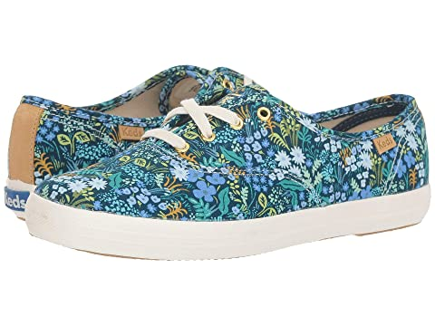 88037038146fd Keds x Rifle Paper Co. Champion Meadow at Zappos.com