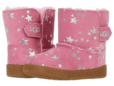 UGG Kids Keelan Stars (Infant/Toddler) (Wild Berry) Girls Shoes