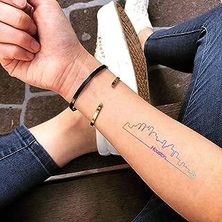 Tatuaje Temporal de Houston Skyline (2 Piezas) - www.ohmytat.com ...