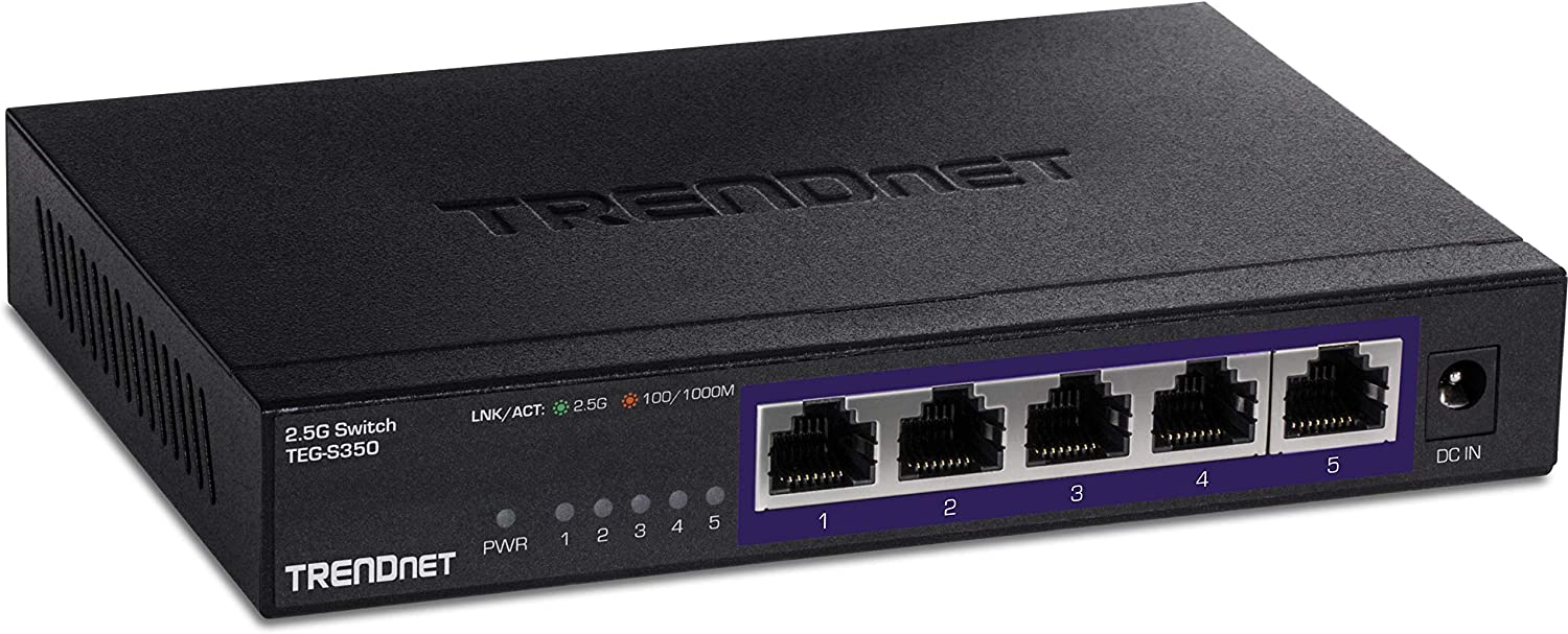 TRENDnet 5-Port Unmanaged 2.5G Switch 2.5GBASE-T 25G 5 Ports x Dealing full Free shipping price reduction