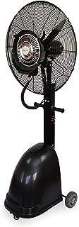 Ventilador Nebulizador Industrial 260W / 220V, Ventilador Oscilante De Pie con Tanque De Agua De 41L, 9h De Tiempo De Uso con 1 Tanque Lleno, Velocidad Ajustable Y Ajuste De Volumen De Niebla