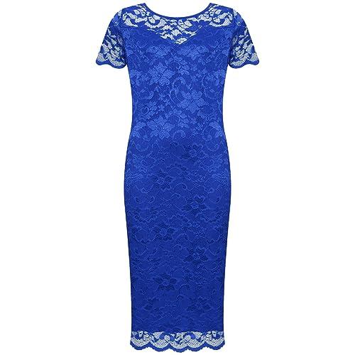 Bodycon Midi Dresses Size 18 Amazoncouk