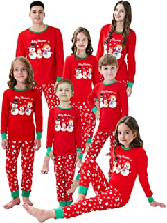 Matching Family Pajamas Christmas Boys and Girls Red Striped Baby Clothes Mum and Me Pjs Women Men