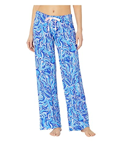 Lilly Pulitzer PJ Knit Pants (Coastal Blue Whispurr) Women
