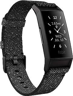 Fitbit Charge 4 Special Edition - Avancerat träningsarmband med inbyggd GPS och upp till 7 dagars batteritid, Granite