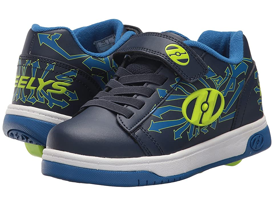 Heelys Dual Up x2 (Little Kid/Big Kid) (Navy/Blue/Arrows) Boys Shoes