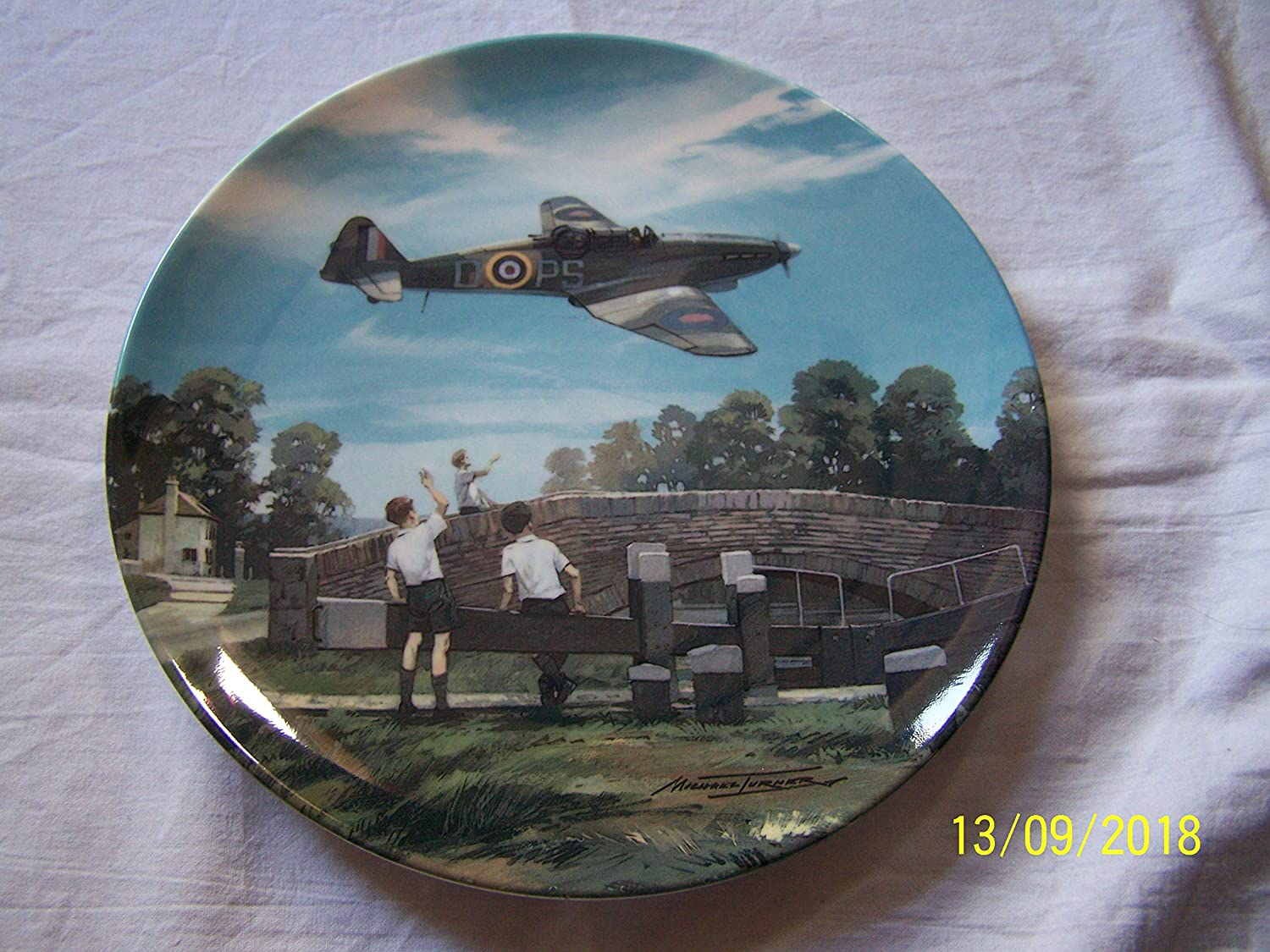 Bradford Exchange Royal Doulton Defiant New York Mall Home T Max 43% OFF for Tea of Heroes