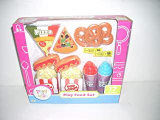 Play at Home Play Food Set 17 Piece