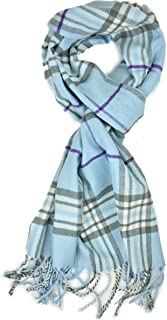 Best baby blue plaid scarf Reviews