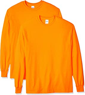 Gildan Men's Ultra Cotton Adult Long Sleeve T-Shirt, 2-Pack