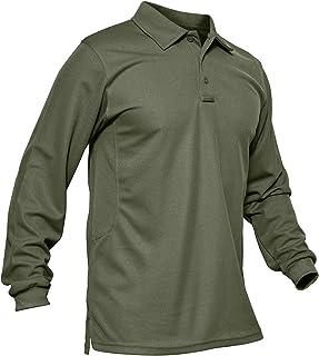 Amazon.com: long sleeve polo