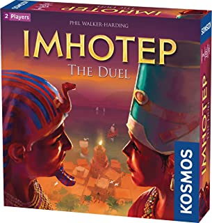 Thames & Kosmos Imhotep: The Duel 2-Player Version of Spiel Des Jahres-Nominated Imhotep, Builder of Egypt Board Game
