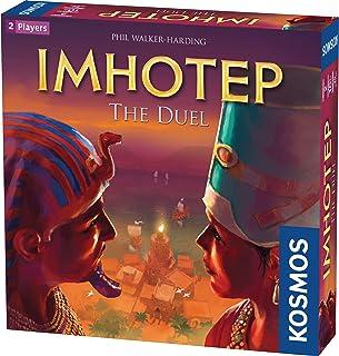 Thames & Kosmos 694272 Imhotep: Duellen | The Builders tävling. | Strategispel, 2 spelare | Ålder 10+ |
