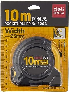 deli 8204 Measuring Tape, 10m