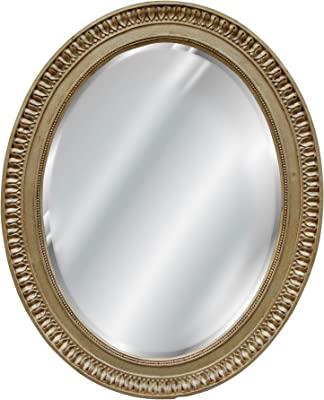 Hickory Manor House Ornate Round Mirror/Gold Leaf