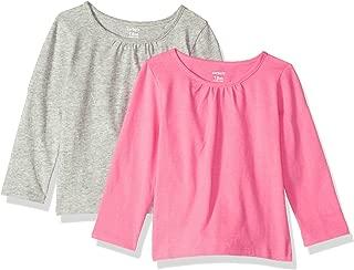 Carter's Baby Girls' 2-Pack Long-Sleeve Tees