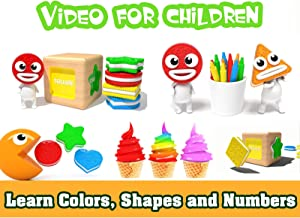 Learn Colors, Shapes and Numbers - Video for Children