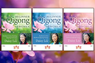 Bundle: Beginner Qigong for Women 3-DVD set with Daisy Lee (YMAA) **Bestselling Qigong DVD Series**