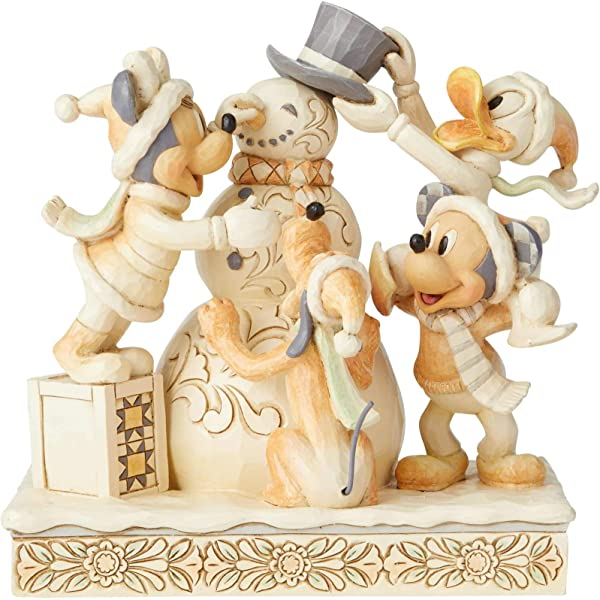 Enesco Disney Traditions Fab Four White Woodland Figurine
