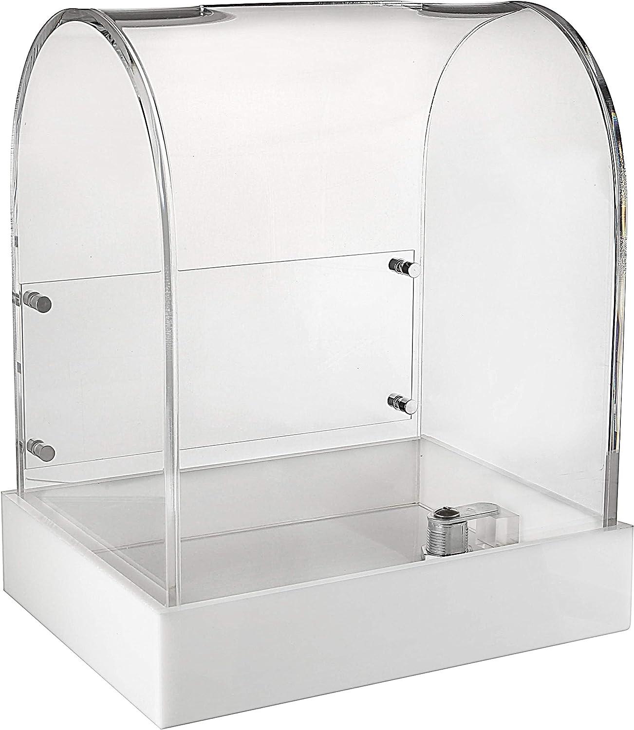 MCB Premium shop Modern Design Acrylic Max 45% OFF Fundr Donations for Box Ballot